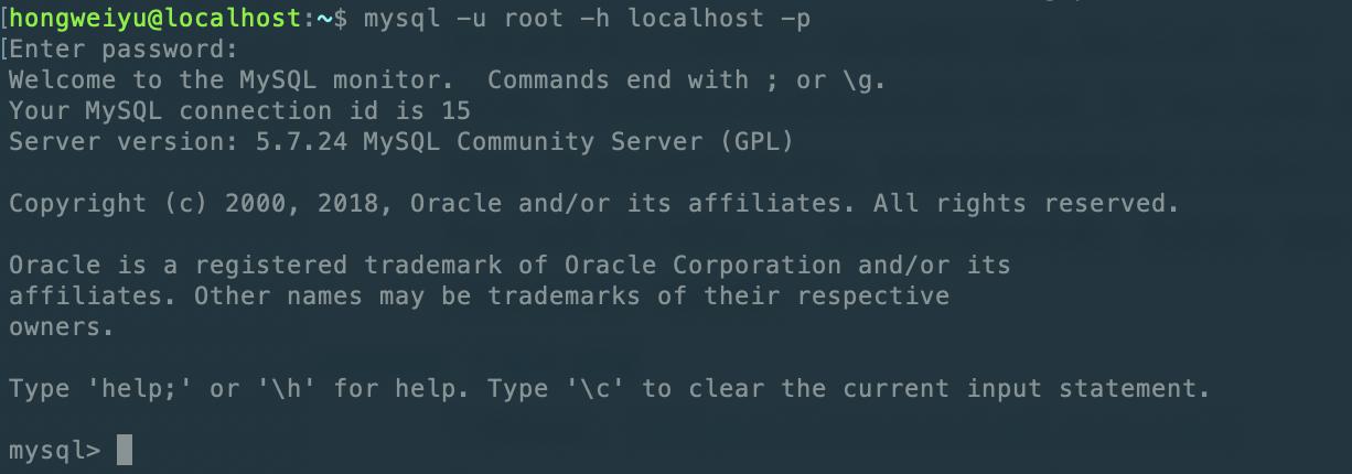 mac中启动mysql服务